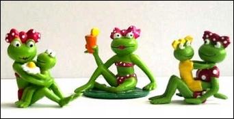 Die Erdal Frosch Frauen